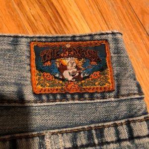 True Religion 29/32 flare jean